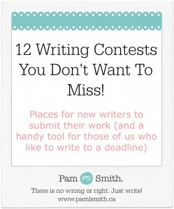 12 writing contests