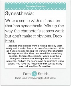 Week 9 Character Synesthesia